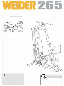 Weider Home Gym Wesy19611 User Guide