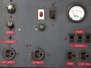 Antique Electrical Power Supply  Vintage Meter W  Bakelite