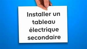Installer Un Tableau électrique : installer un tableau lectrique secondaire castorama ~ Dailycaller-alerts.com Idées de Décoration