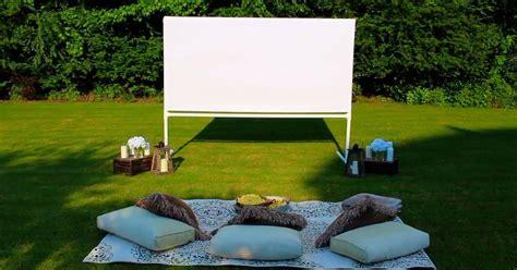 diy backyard  theatre screen hometalk