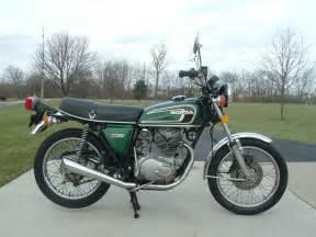 1974 Honda 360 Motorcycle
