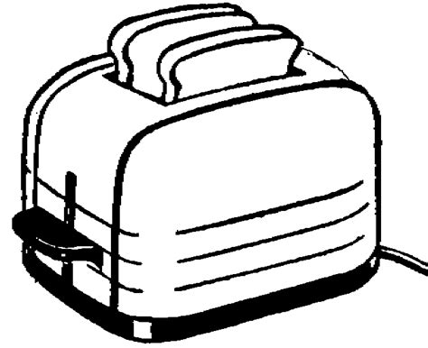Black And White Toaster by Capovelo Cyclist Vs Toaster