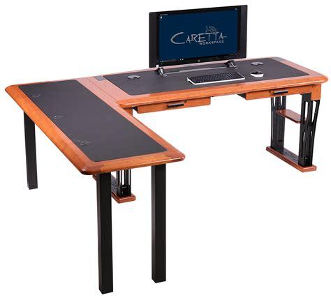 Modern Computer Desk L Shaped modern desk 2 l shaped left caretta workspace