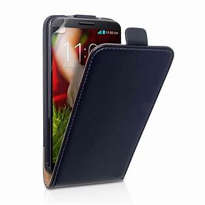 YouSave LG G2 Real Leather Flip Case - Black | Mobile M