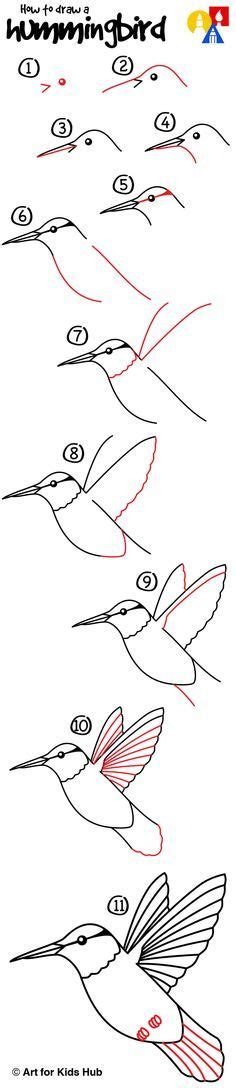 How To Draw A Boat Art Hub by Learn How To Draw Swallows Birds Flying With Easy Step