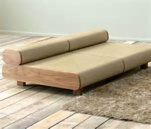 unique sofa japanese eco friendly sofa and ottoman agura by sajica digsdigs