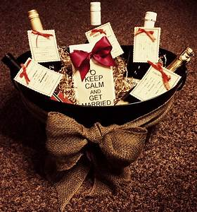 Bridal shower gift basket the crafty crafter pinterest for Wedding shower gift baskets