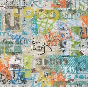 papiertapete rasch graffiti online kaufen otto With markise balkon mit graffiti tapete online shop