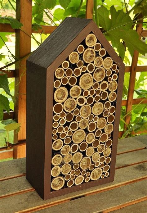 17 Best Images About Bee Hotel On Pinterest  Gardens