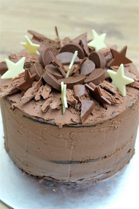 chocolate birthday cake bakingqueen