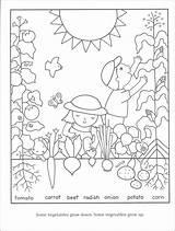 Coloring Gardening Seeds Vegetables Vegetable Sheets Colouring Printable Flower Children Bestcoloringpagesforkids Preschool Adult Bible Spring Childrens Rainbow Grade sketch template
