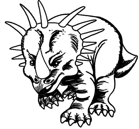 coloring page dinosaur coloring pages