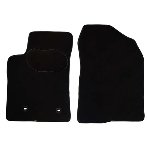 tapis de sol norauto 2 tapis voiture sur mesure noir en moquettes norauto premium norauto fr