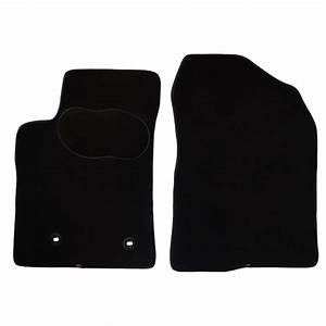 2 tapis voiture sur mesure noir en moquettes norauto With tapis voiture sur mesure