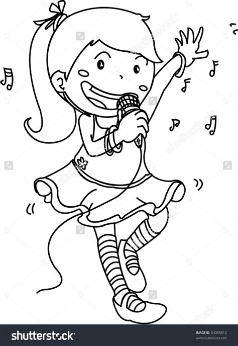 children singing clipart black and white winter singing clipart clipground