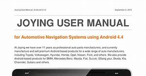 Joying User Manual Pdf