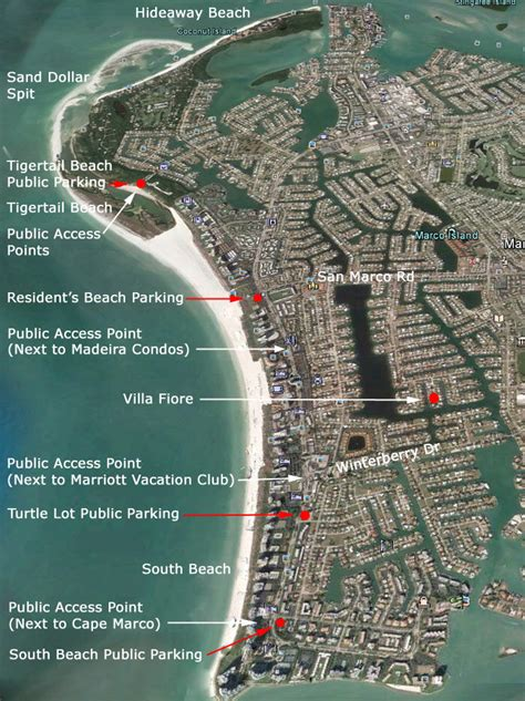 marco island beach access tigertail florida beaches fishing points islands know