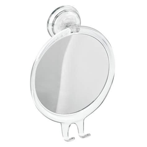 Suction Bathroom Mirror by Interdesign Power Lock Suction Bathroom Or Shower