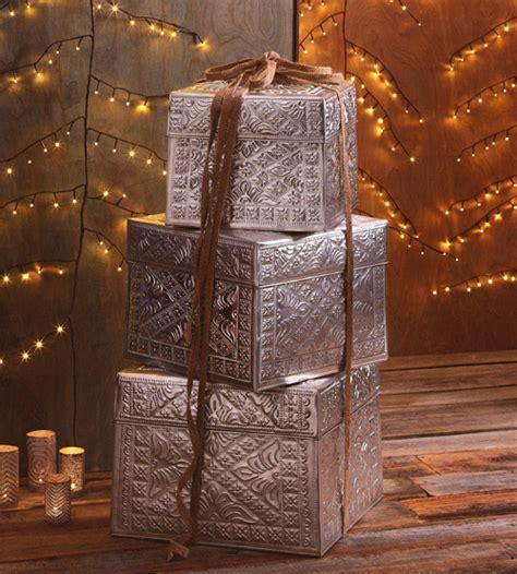 gift box tower set christmas gift boxes set   novacom