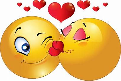 Kiss Emoticon Blowing Animated Kissing Smiley Couple