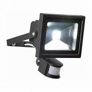 Endon lighting el w led pir flood outdoor sensor