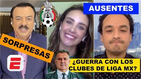 CONVOCATORIA del TATA MARTINO. ¿Hay sorpresas? ¿Liga MX vs ...