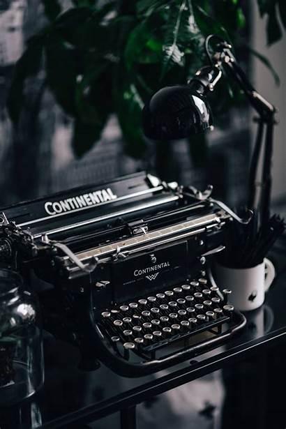 Typewriter Keyboard Antique Retro Typewriters Writer Iphone