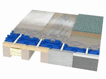 Floor Construction Heating Underfloor Profix Combined Board