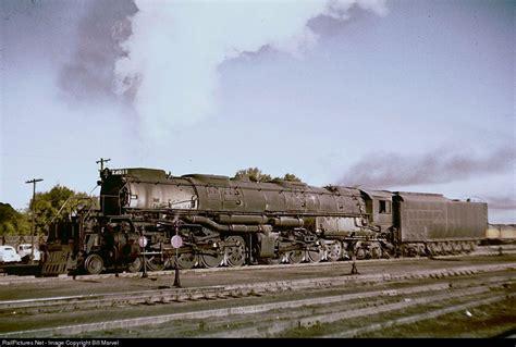 big boy 4011 has cut off its train from cheyenne and soon