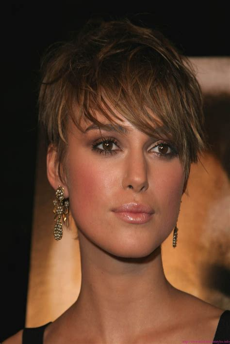 hairstyles popular  celebrity short brown hairstyle