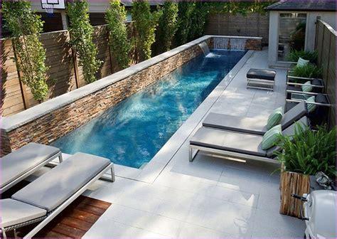 desain kolam renang minimalis  rumah mewah