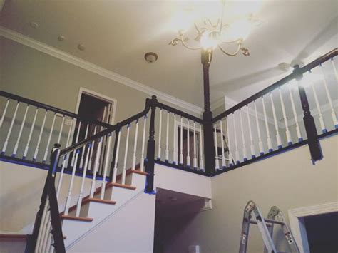 how to paint a banister black best 25 banisters ideas on banister ideas