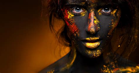 500px Blog » » 40 Freaky, Fancy, And Fun Face Painted
