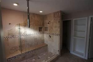 Unique walk-in shower in Plano - Traditional - Bathroom ...