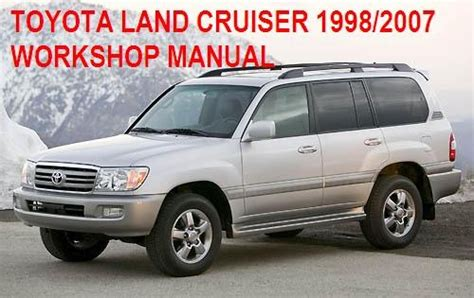 manuales de mecanica automotriz by autorepair soft manual de taller de toyota land cruiser 1998