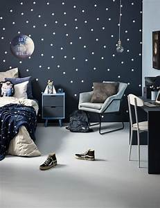 36, inspiring, outer, space, bedroom, decor, ideas