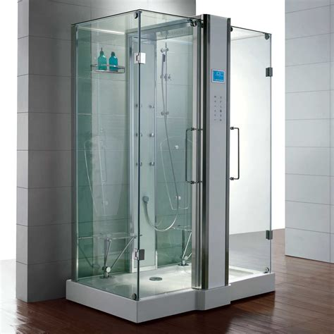 Steam Shower Enclosure by Signature Hardware 59 Quot X 38 Quot Mursley Steam Shower
