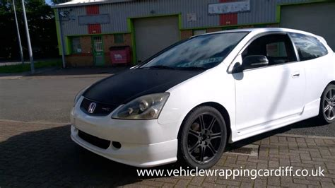 Honda Civic Type R Vinyl Wrap (hexis)