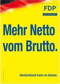 Netto Vom Brutto Berechnen Formel : schwarz gelb bringt kostenplus f r die b rger forum ariva de ~ Themetempest.com Abrechnung