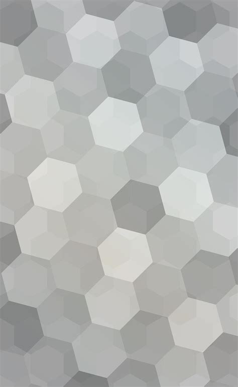 gray hexagon backgrounds vector