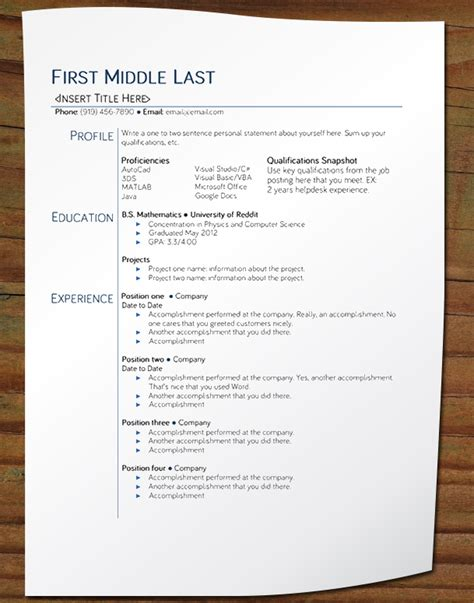 Better Wording For Resumes by Free Your Resume Entry Level Resume Bariol