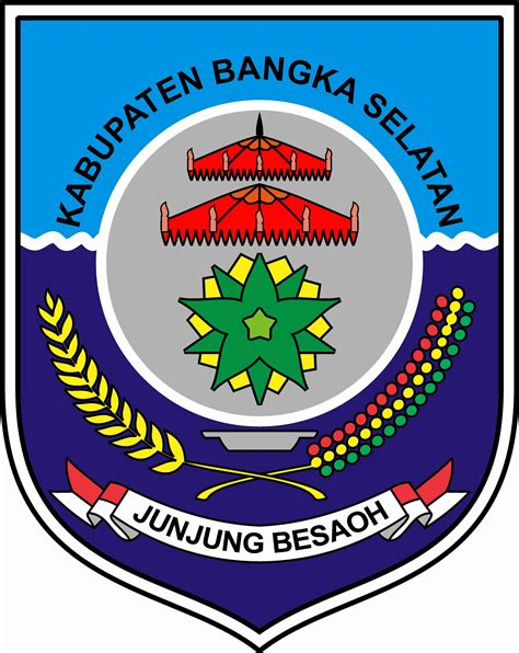 kabupaten bangka selatan bendera flag bangkabarat