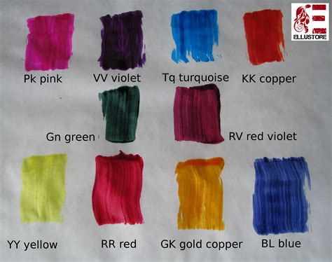 elumen color chart goldwell elumen yy all is yellow hair dye oxidant free