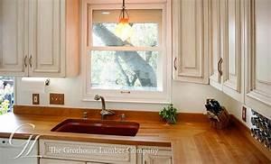 wood backsplash - Wood Countertop, Butcherblock and Bar
