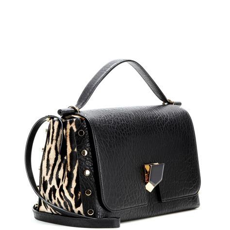 black hill gold rings lyst jimmy choo lockett shoulder bag in black