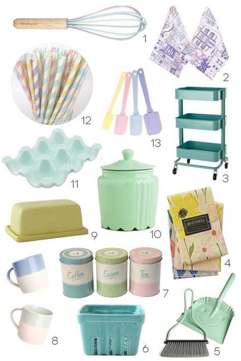 pastel kitchen accessories pastel kitchen decor on kitchen display 1422