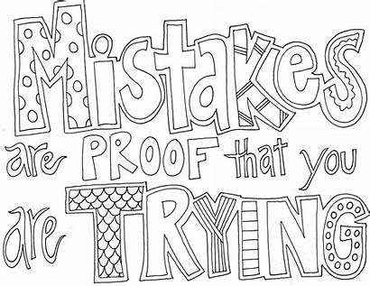 Coloring Pages Sayings Quote Activity Via Info