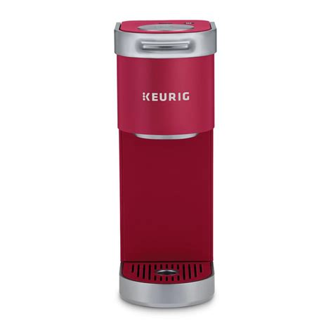 Moreover,this feature can turn off the machine after 90 seconds of the last brew. Keurig K Mini Plus Single Serve Brewer Cardinal Red-124029 - The Home Depot
