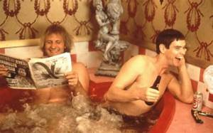 Dumb and dumber quotes scooter quotesgram for Jeff daniels bathroom scene