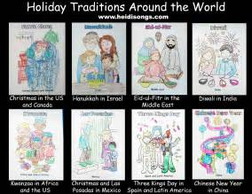teaching holidays around the world tips for earth heidi songs